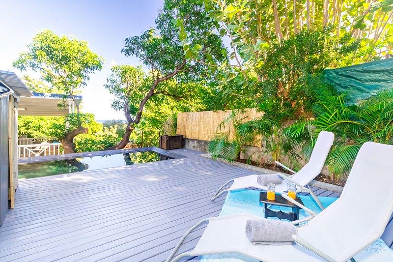 Albius - jolie villa avec piscine proche du lagon de Saint-Leu, casa vacanza a Saint-Leu