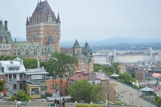 The frontenac castle 10 minutes from the house.