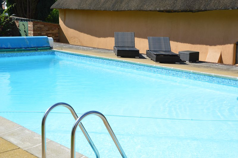 Outdoor heated swimming pool (open until Sept)