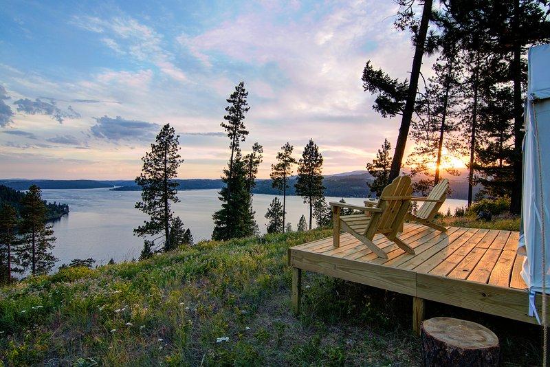 Tentrr Signature Site - Coeur d'Alene Ranch, alquiler de vacaciones en Worley