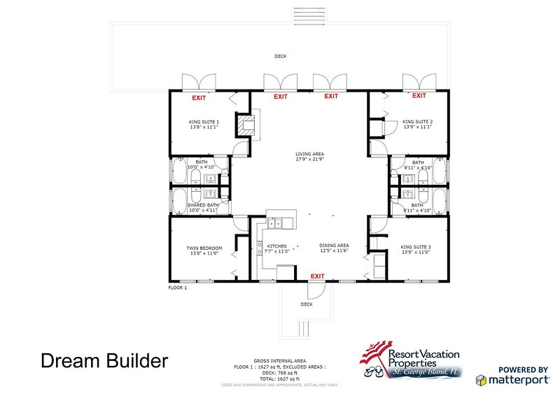 Dream Builder UPDATED 2019: 4 Bedroom House Rental in St