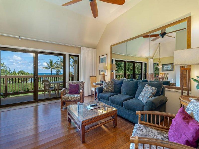 Kauai Paradise w/Kitchen, Ceiling Fans, Lanai, WiFi, Flat Screen+DVD–Kaha Lani, holiday rental in Wailua