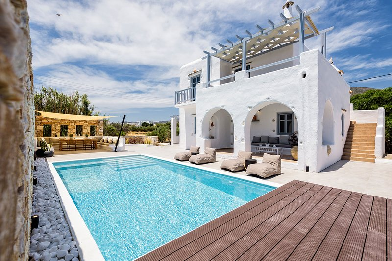 Villa Vanta I with private swimming pool, vacation rental in Drios