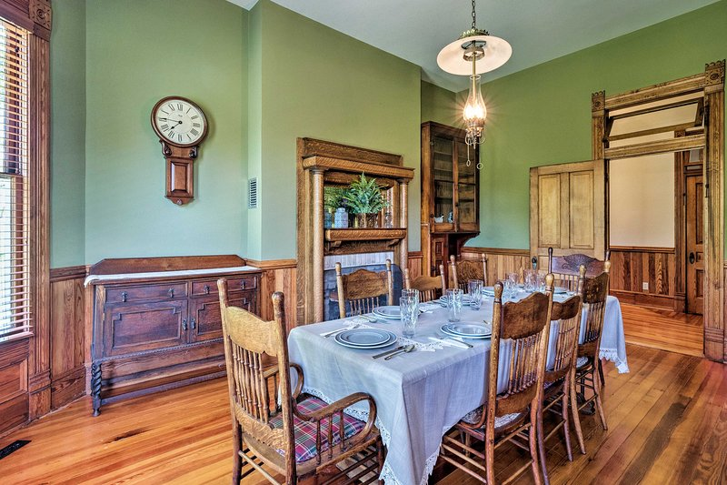 Built in the early 1900s, 'Teggeman House' retains its original character.