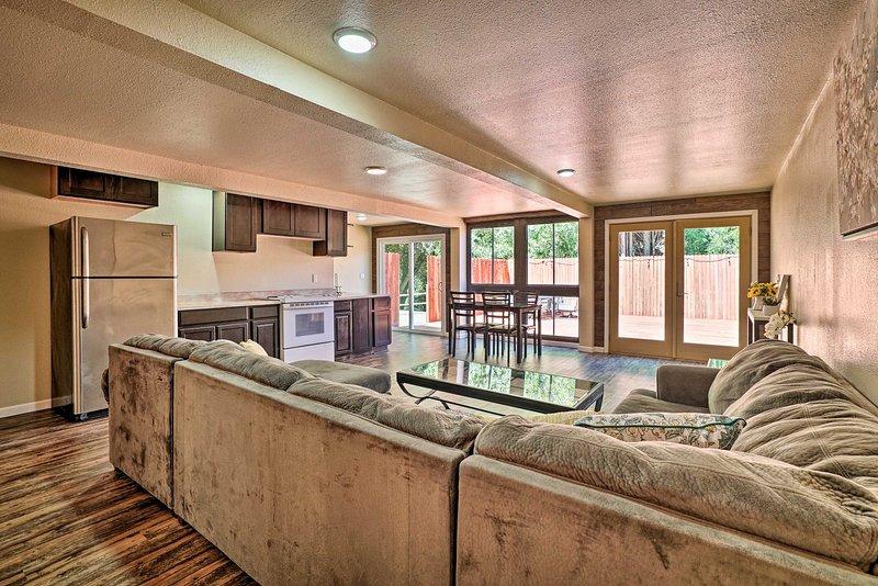 La casa è perfetta per un massimo di 8 ospiti.