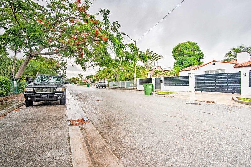Hemmet ligger inte långt från många av Miamis största attraktioner!