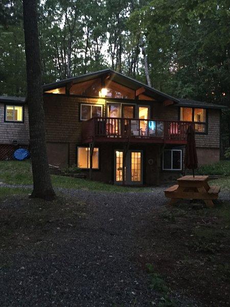 Cottage uit de vuurplaats.