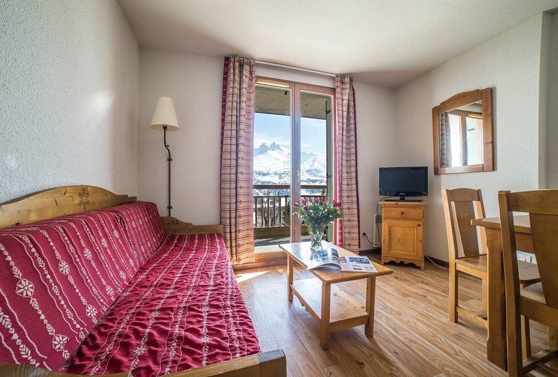 Venez et restez dans notre appartement confortable et chaleureux dans les montagnes!