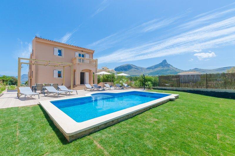 DONES D'AIGUA 11 - Villa for 8 people in Urb. S'Estanyol (Colonia de Sant Pere), holiday rental in Colonia de Sant Pere