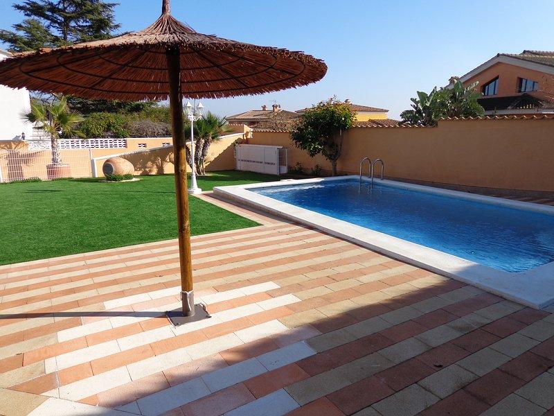 Big villa with swimming-pool & Wifi, holiday rental in Montserrat