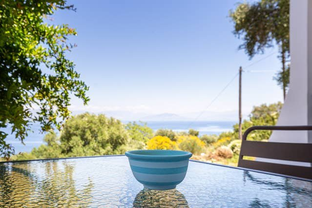 Ionian Blue Sea View Maisonette 3, holiday rental in Dafnata