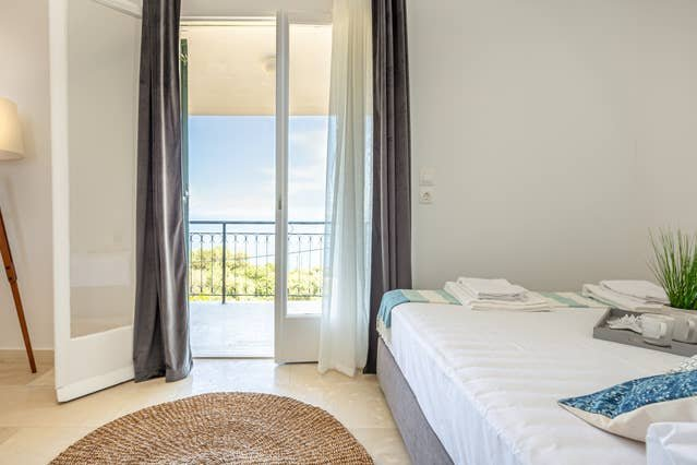 Ionian Blue Sea View Maisonette 2, holiday rental in Dafnata