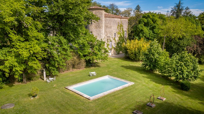 Plaigne Chateau Sleeps 29 with Pool - 5678528, holiday rental in Lapenne