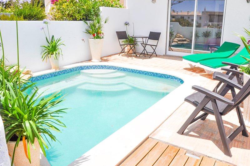 Atlantic Cottage, Praia da Luz, Espace piscine