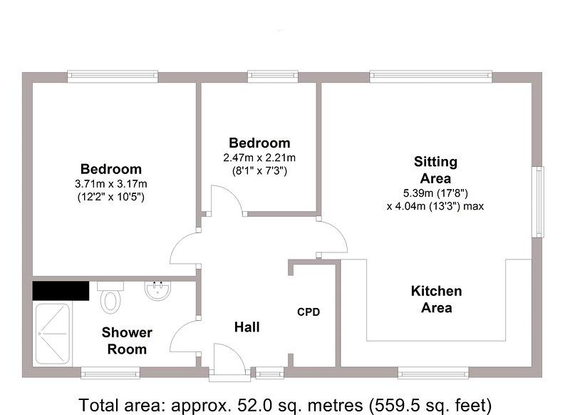 Floor plan for Dunara 8