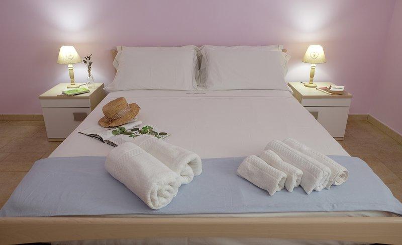 CasaClaudia, elegante appartamento a 450 metri dal mare con aria condizionata – semesterbostad i Pescoluse