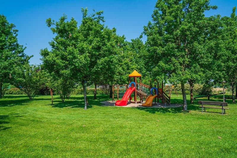 agriturismo Il Brugnolo mimosa monolocale vista parco, location de vacances à Formigine