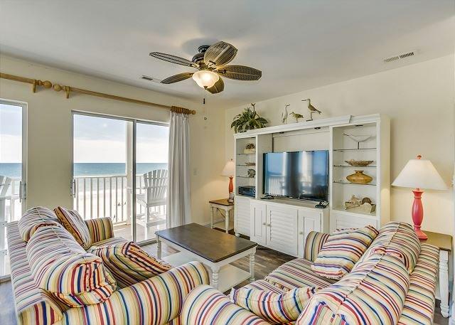 7 Bedroom 6 Bath Oceanfront 3000 square foot villa located in Ocean Drive, vacation rental in North Myrtle Beach