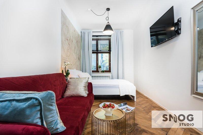 Historical apartment near Vistula Boulevards, casa vacanza a Marcyporeba