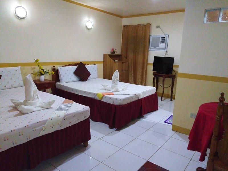 D' Lucky Garden Inn Family Room 3, casa vacanza a Puerto Princesa