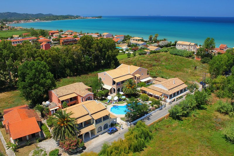 Just 150 meters away from the beach