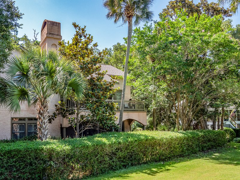 2501 Chateau by the green in also 1.5 miles from the beach and club amenities.