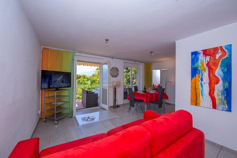 Casa Collina - Appartamento Stella, holiday rental in Brione sopra Minusio