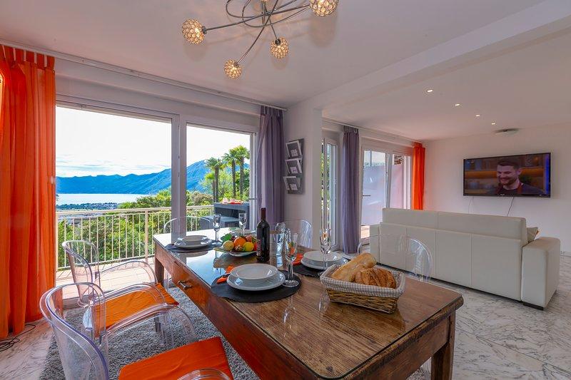 Casa Collina - Appartamento Galassia, holiday rental in Brione sopra Minusio