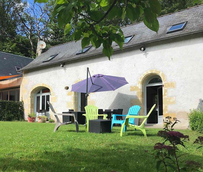 Gite Nature Loire et Château en Touraine, aluguéis de temporada em Langeais