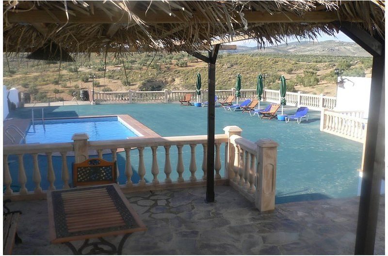 Spacious villa with swimming-pool, holiday rental in Riofrio