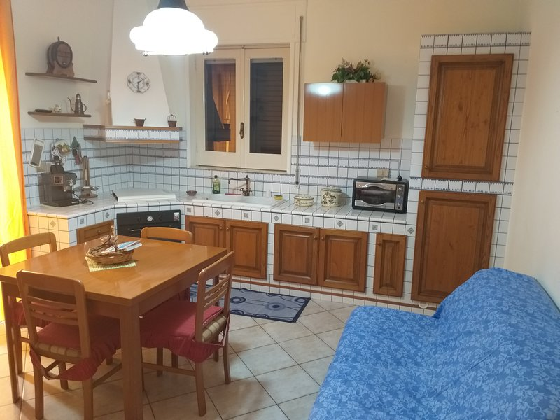 Beautiful house with terrace, holiday rental in Sortino