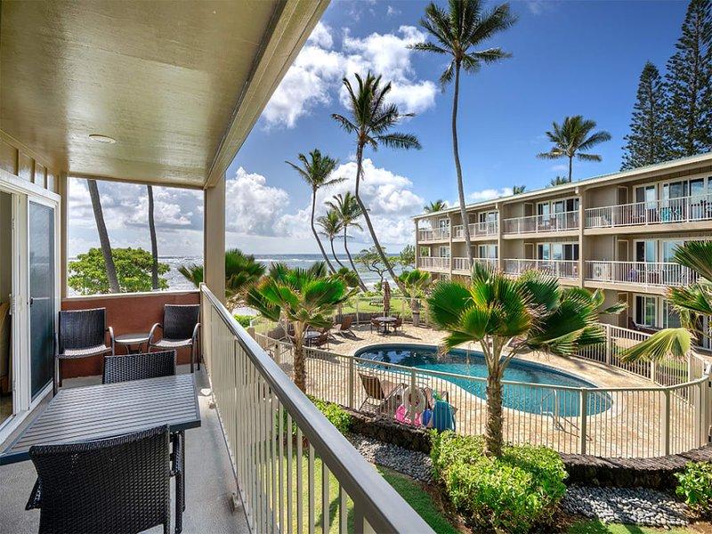 OF Beauty! Open Living Area+Kitchen, Lanai, Ceiling Fans, WiFi–Kauai Kailani, alquiler de vacaciones en Anahola