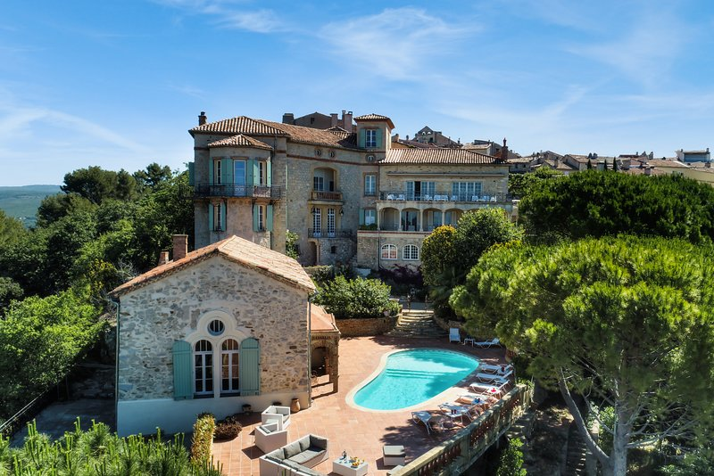 Chateau Des Costes Vue Mer Spa Has Parking And Terrace Updated