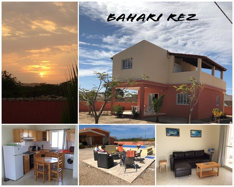 Eco Lodge Bahari REZ pour 2 ou 3 personnes, holiday rental in Vila do Maio