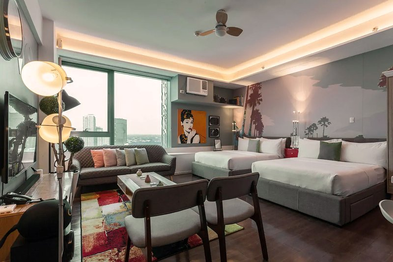 Posh Entrata SOHO Suite—Festival Mall view, vacation rental in Muntinlupa