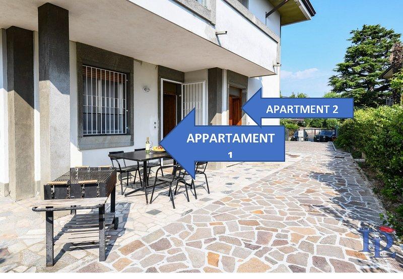 76- two apartments one price, casa vacanza a Castiglione Delle Stiviere