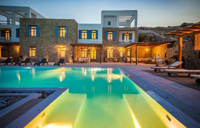 Paradise View Mykonos Villa, aluguéis de temporada em Ornos