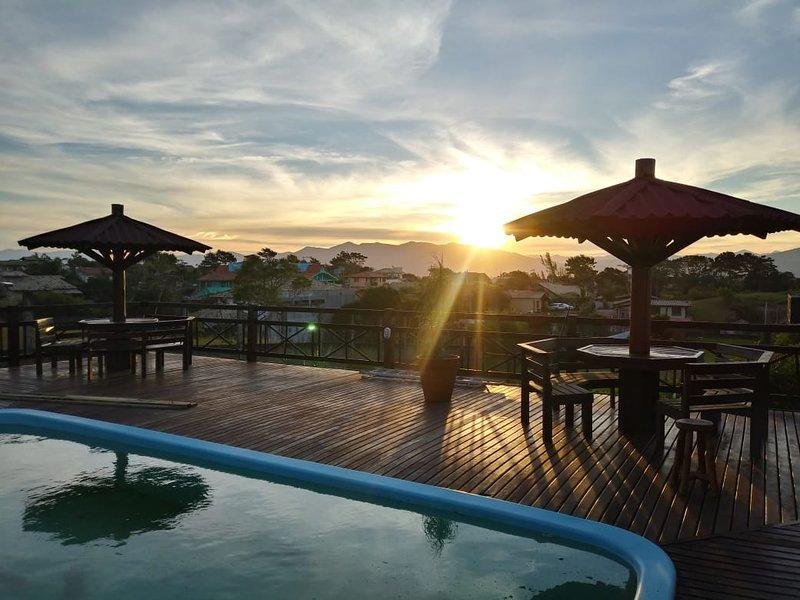Cabanas Cores do Rosa não estamos mais atendendo pelo site tripadvisor, location de vacances à Barra de Ibiraquera