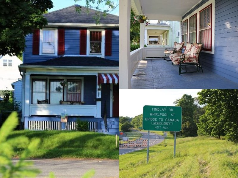 House In Niagara falls 5 min drive at whirlpool St Niagara fall NY, alquiler vacacional en Lewiston
