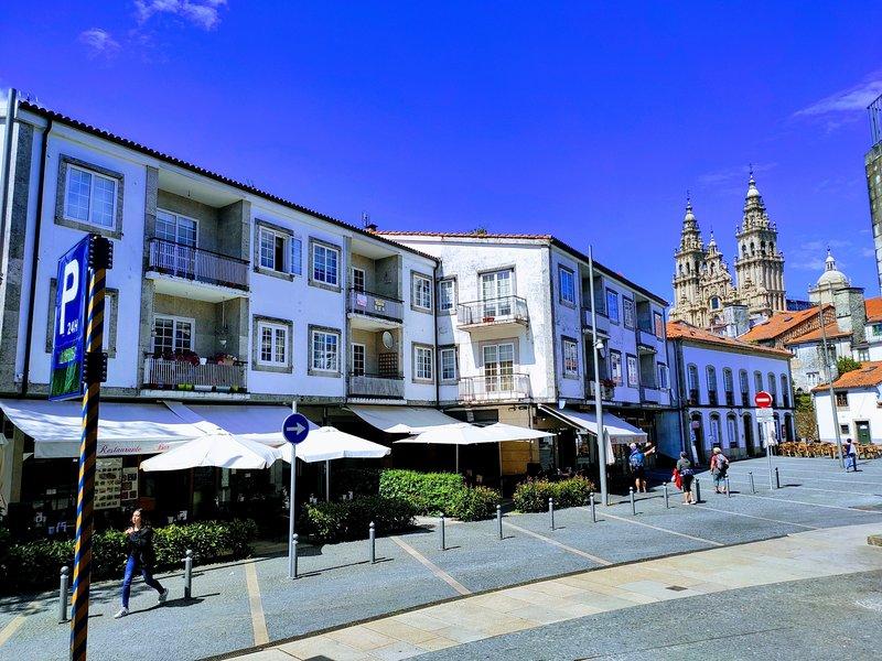 Exclusiva Vivienda Turística en Santiago de Compostela a 80metros de la Catedral, alquiler de vacaciones en Santiago de Compostela