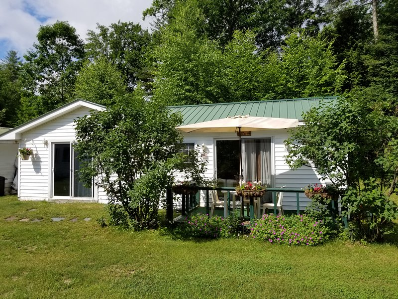 Poolside country cottage. Delightful,  quiet and peaceful., holiday rental in Hadley