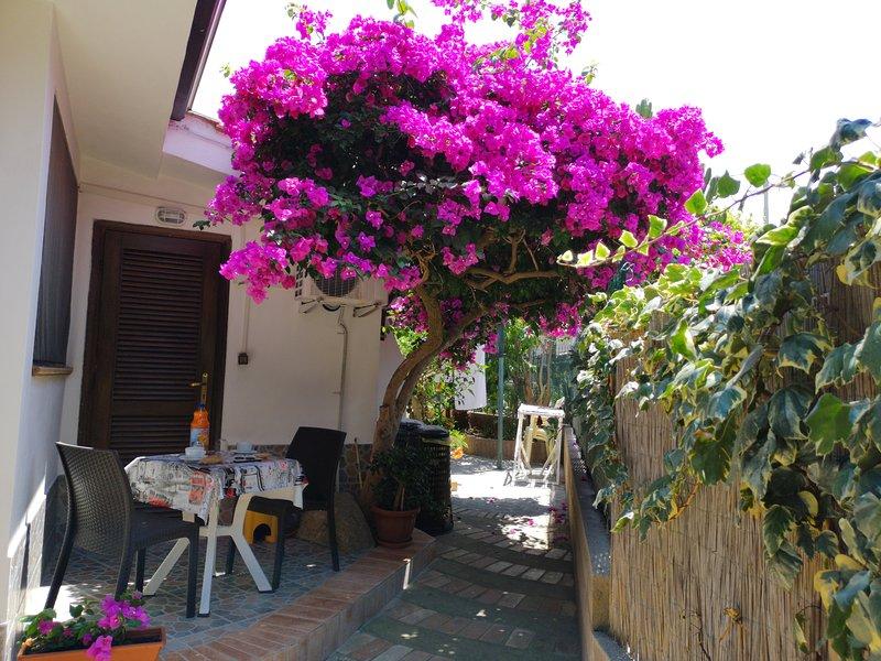 B&B Baia di Riaci Tropea. Camera con bagno privato, holiday rental in Ricadi