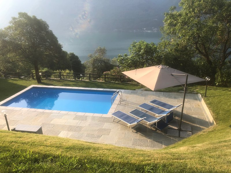 Casa Cima - Italian Lakes Villa with Pool, holiday rental in Albogasio-Oria