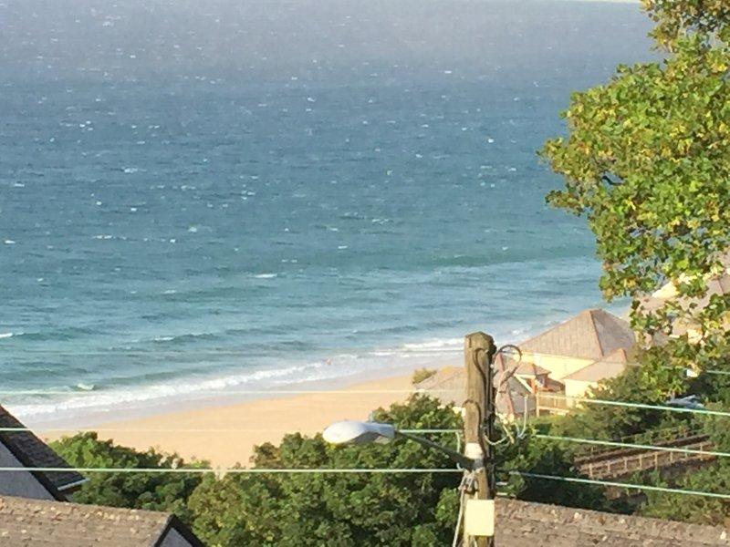 Carbis Bay Beach is just 250 metres away!