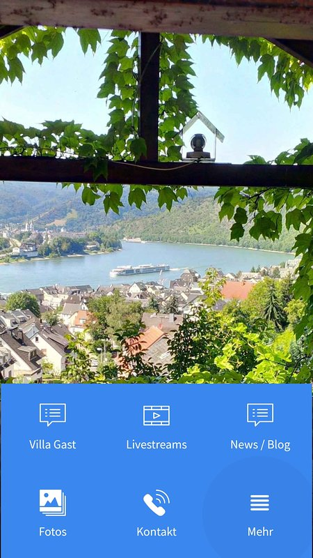 Our app in the Google Play Store. Here you will find a lot of information about the Rhine Valley and us.
