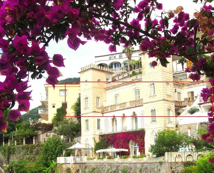 The small castle of the Moors II°,descent sea,lift,parking, alquiler de vacaciones en Ravello