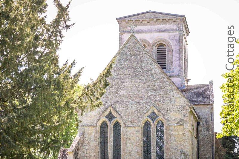 La chiesa sassone di San Matteo si trova alla periferia del villaggio ed è un edificio di interesse storico