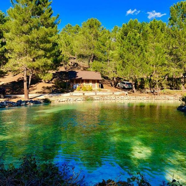 La cabaña del lago. Parque Natural del Río Mundo, holiday rental in Povedilla