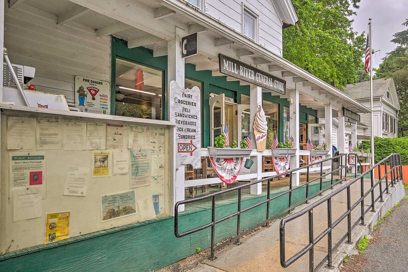 Check out the General Store in the Historic Mill River District.