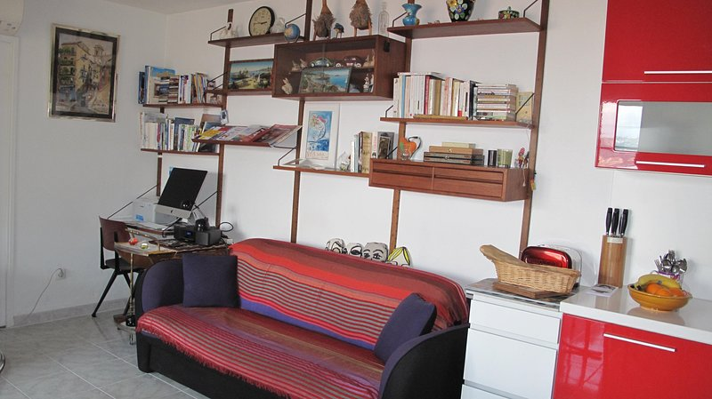F3 tout confort avec garage au coeur du vieux Nice, Ferienwohnung in Nizza